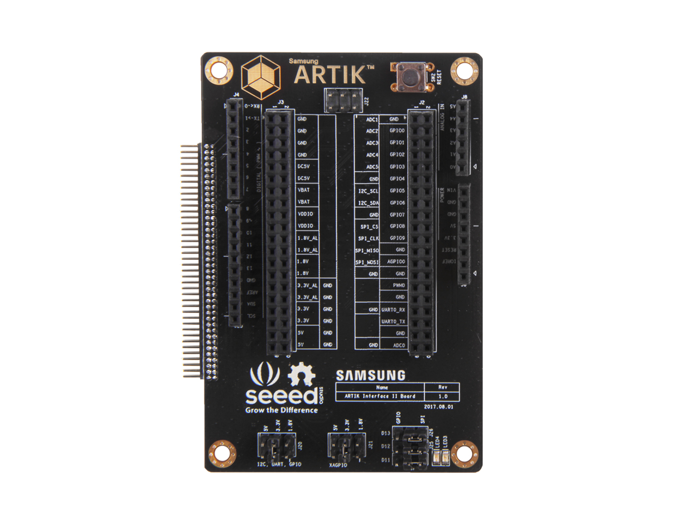 ARTIK Interface II Board