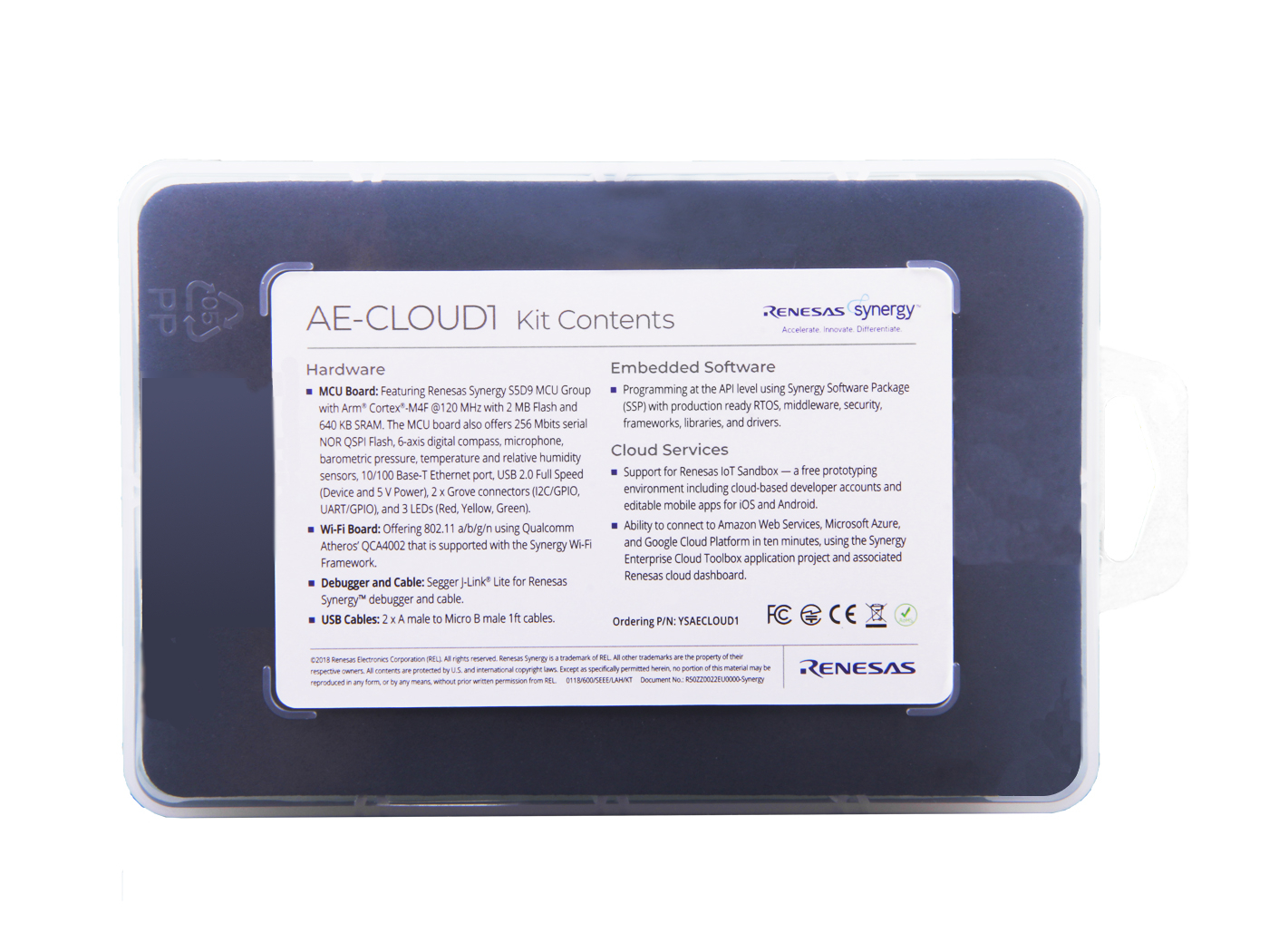 AE-CLOUD1 Application Example for Cloud Connectivity