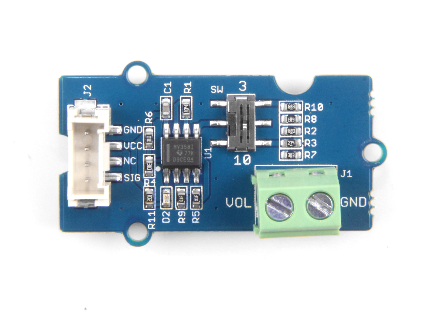 Grove Voltage Divider Sensor Seeed Studio Circuit Dividers
