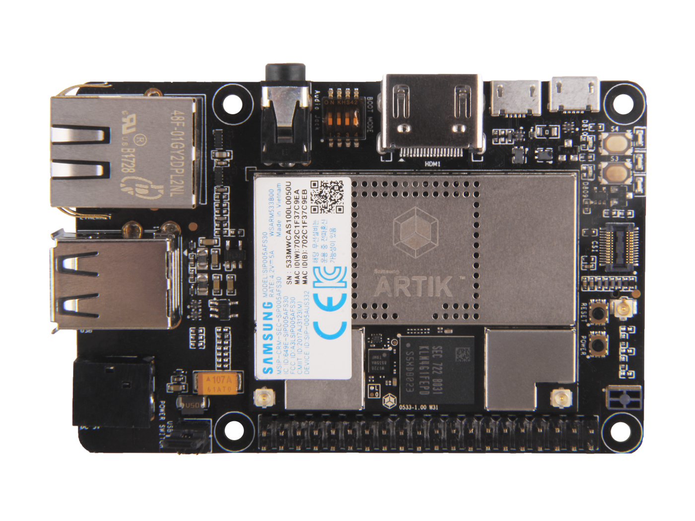 Eagleye 530s Artik Seeed Studio Have The New Power Lines Soldered To Gps Circuit Board When I