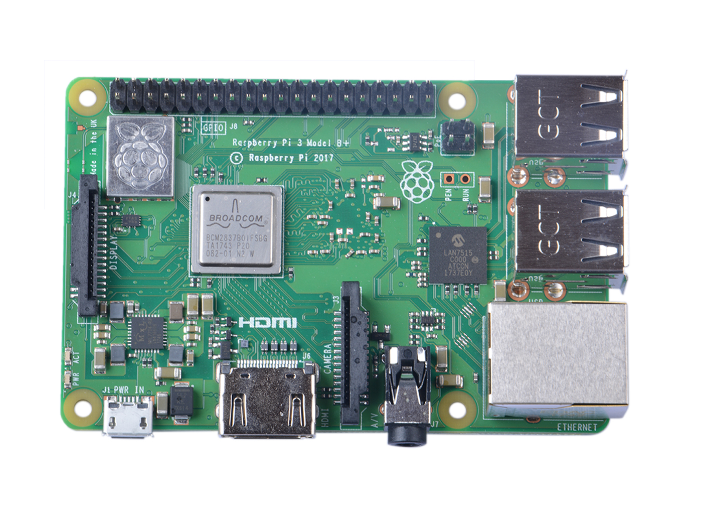 Raspberry Pi 3 Model B+ - Boards - Seeed Studio