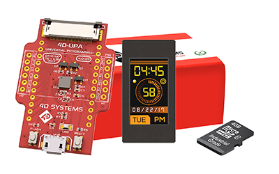 4D Systems 0.9 Inch Display Kit