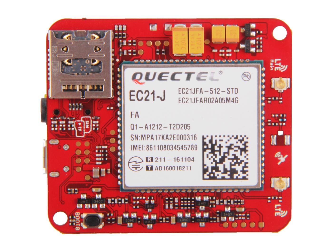 Wio LTE JP Version v1.3- 4G, Cat.1, Espruino Compatible