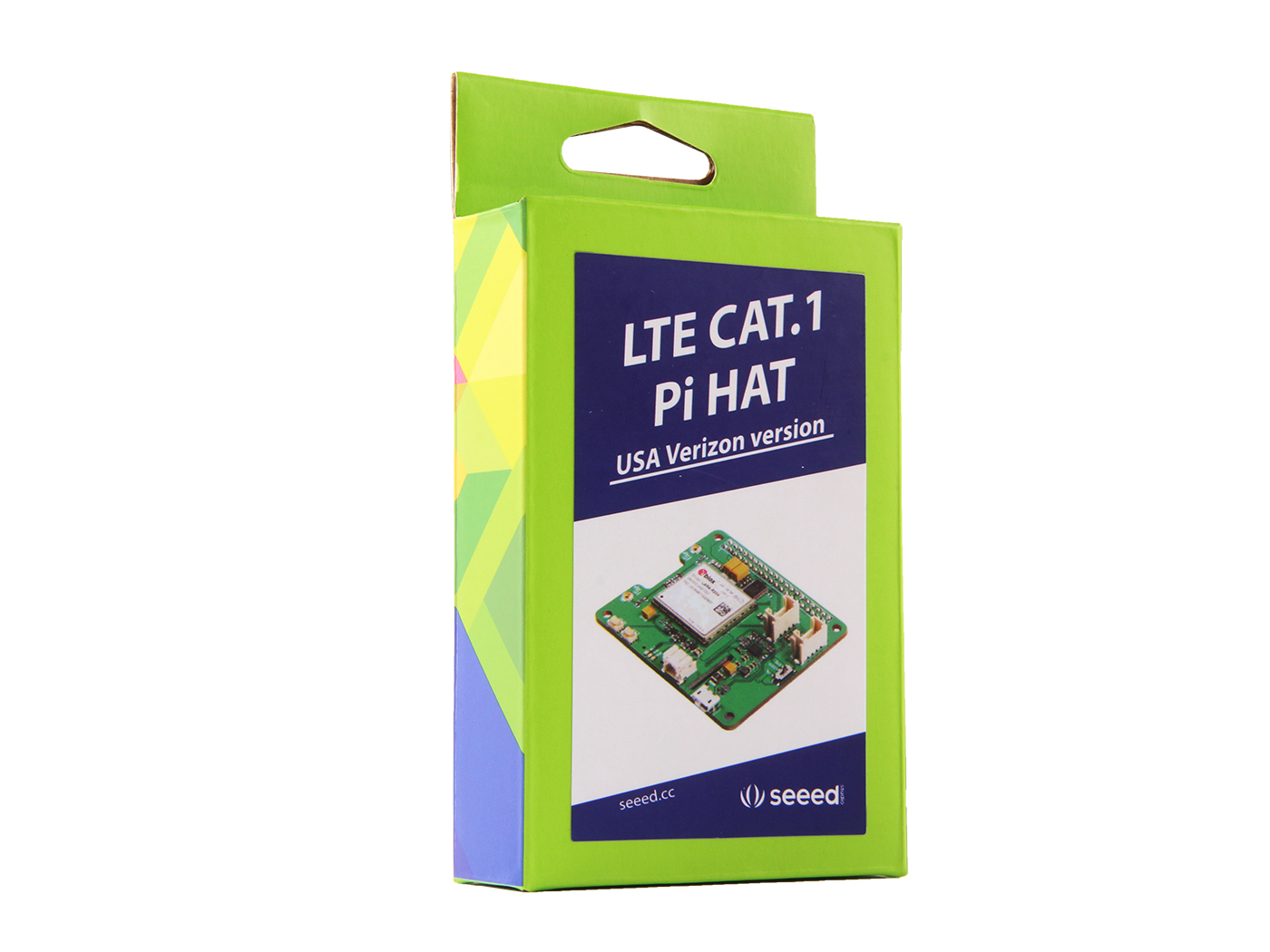 LTE Cat 1 Pi HAT (USA - VZW)