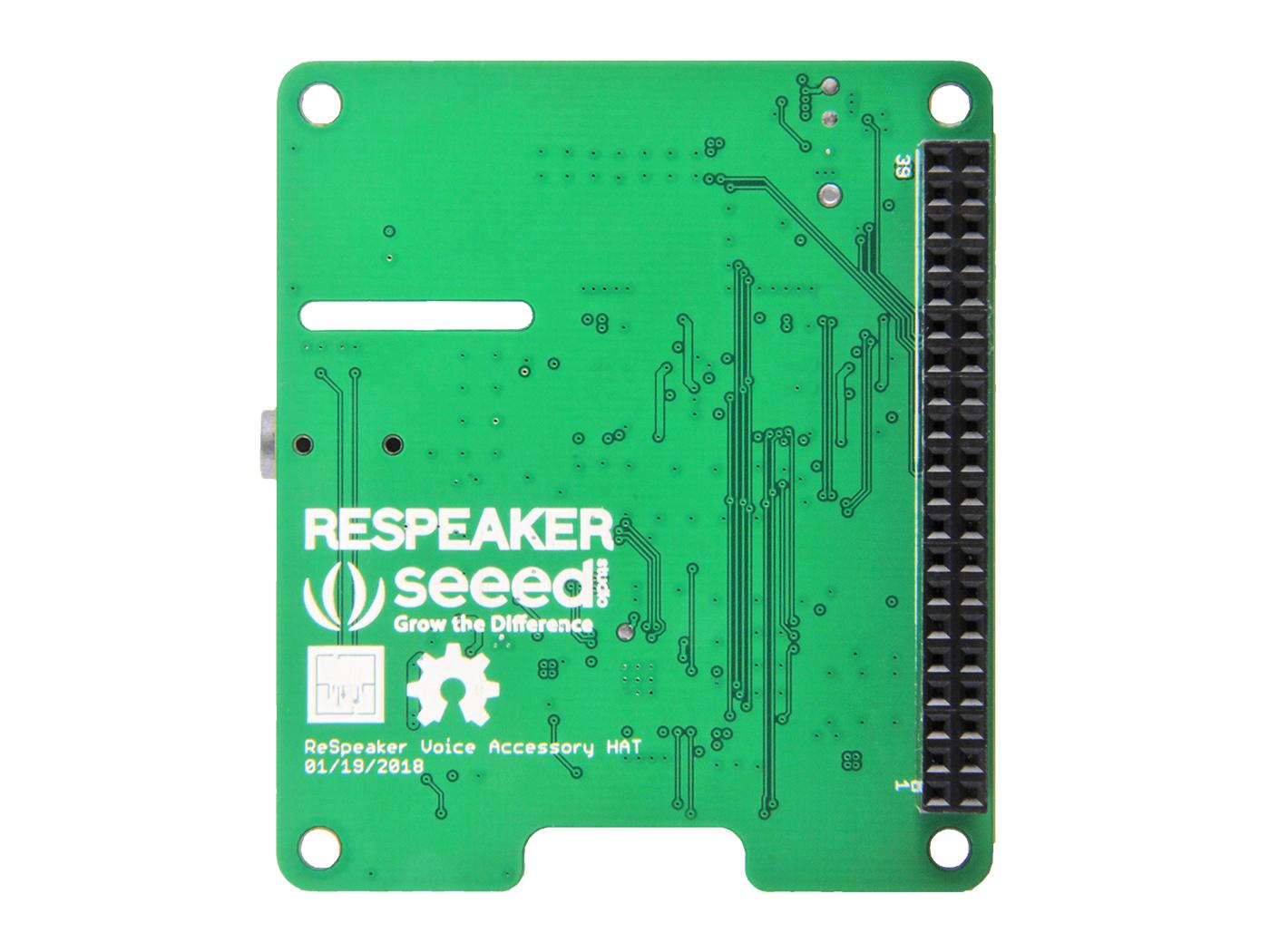 ReSpeaker 4-Mic Linear Array Kit for Raspberry Pi