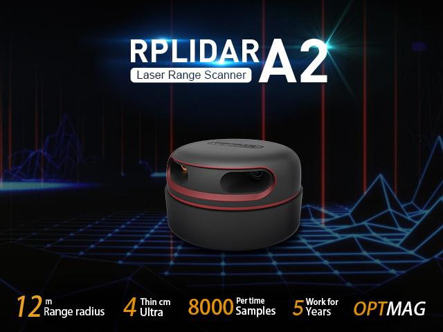 RPLiDAR A2M8 360 Degree Laser Scanner Kit - 12M Range