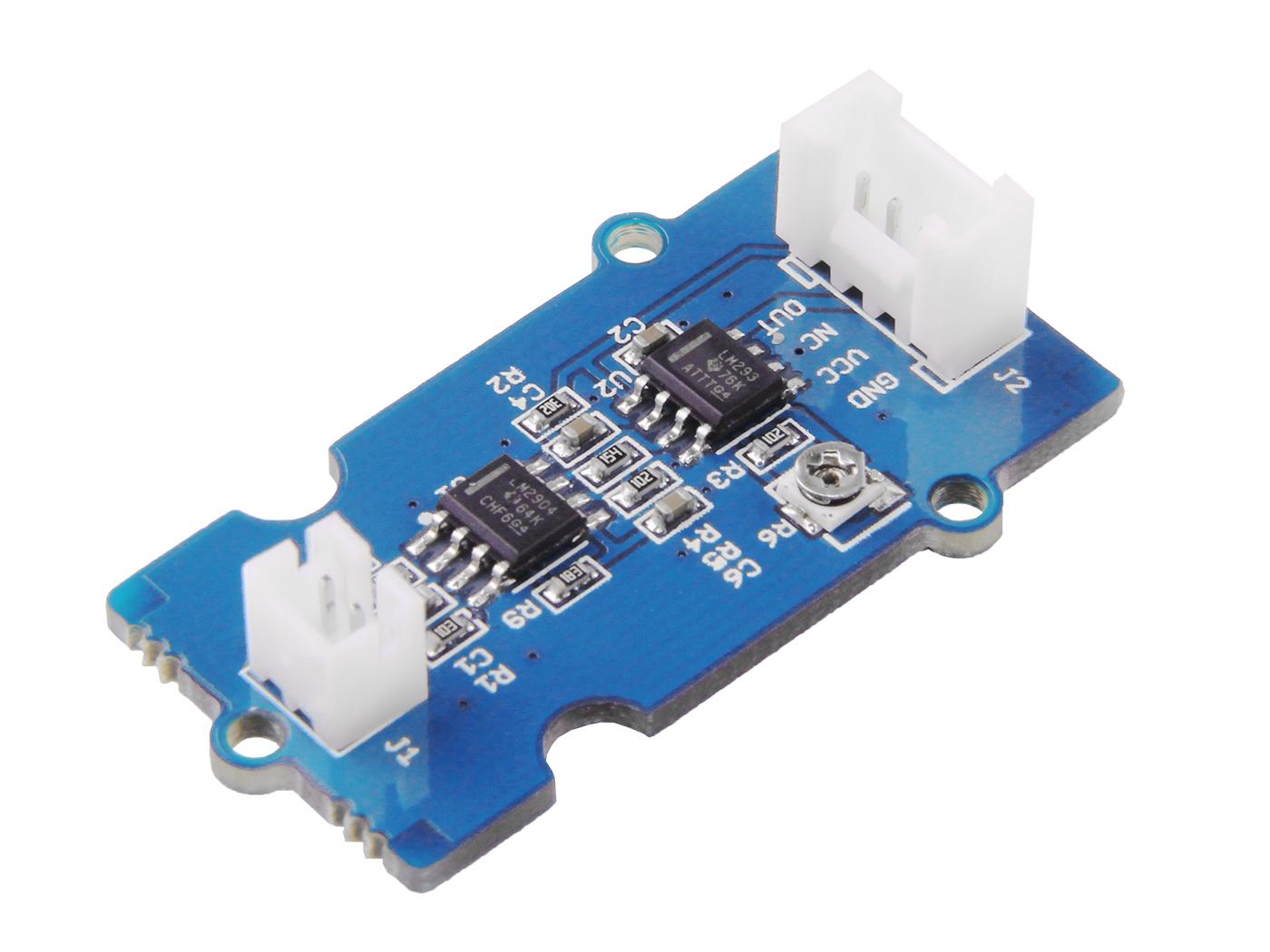 Grove Piezo Vibration Sensor Seeed Studio Charge Amplifier Circuit For Measuring Strain With Piezoelectrics
