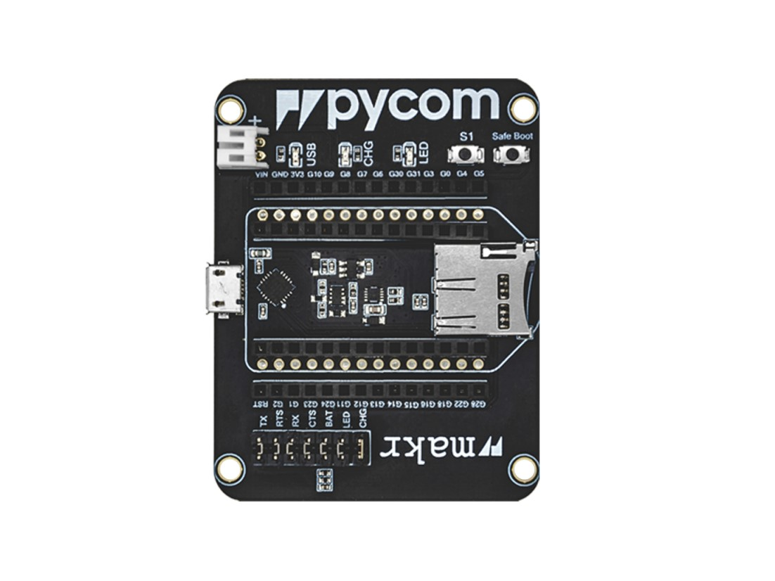 Expansion Board 3.0 (compatible with all Pycom modules)