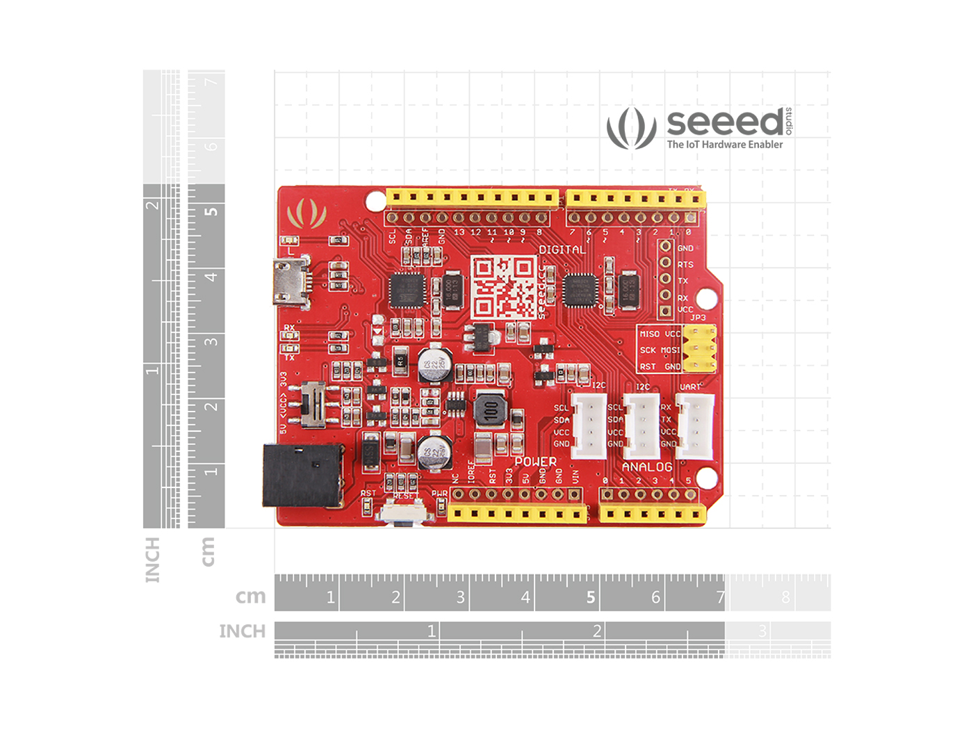 Seeeduino V42 Arduino Compatible Seeed Studio Electronics Technology 5vdc To 12vdc Lt1070 Boost Converter Circuit