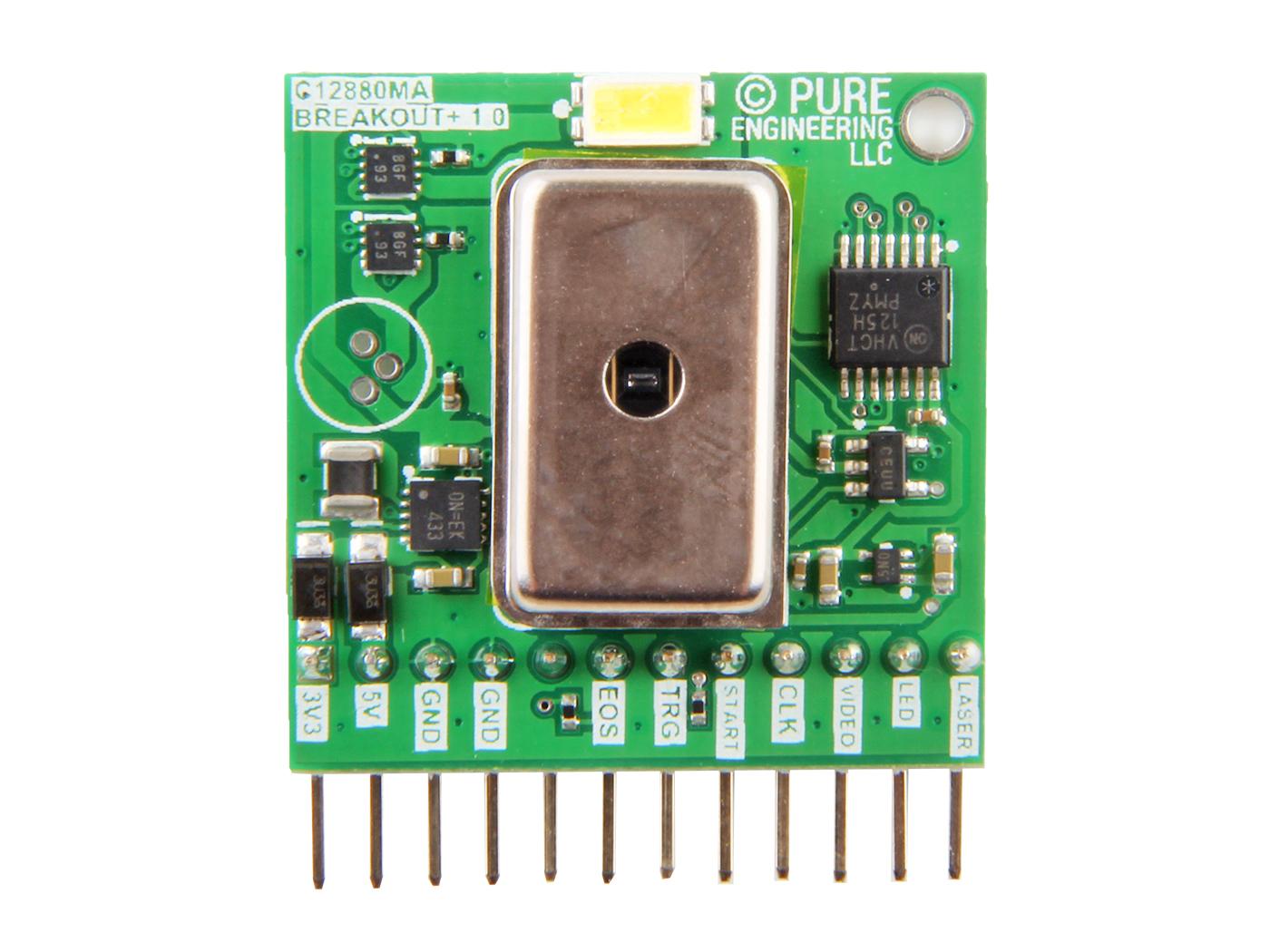 Hamamatsu C12880MA MEMS u-Spectrometer and Breakout Board