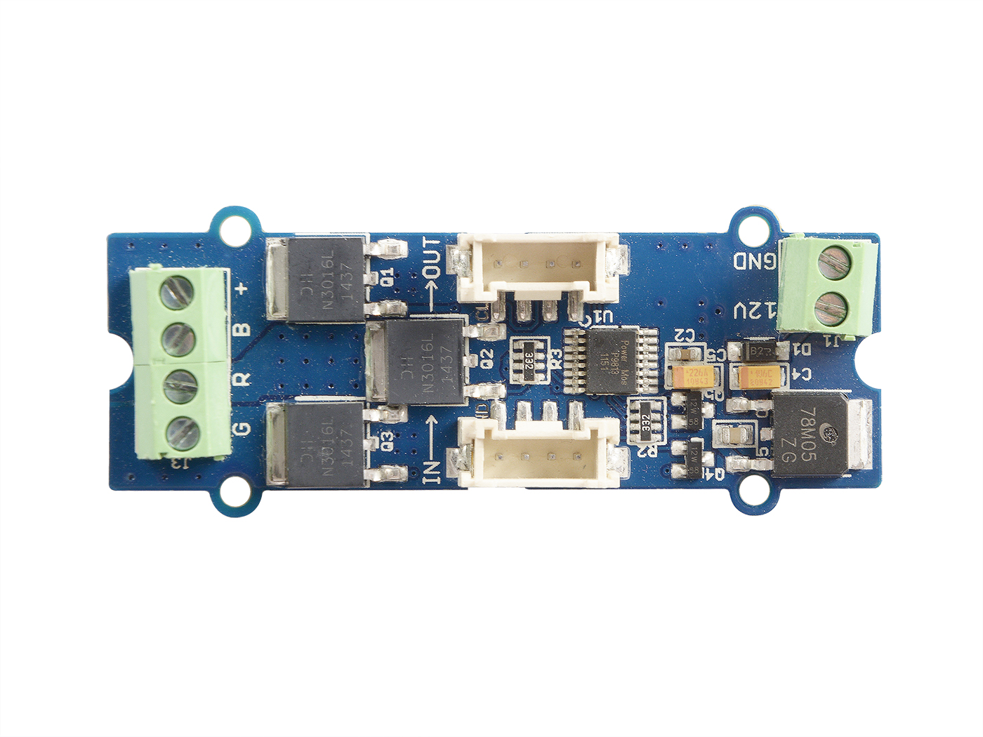 Grove Led Strip Driver Actuator Seeed Studio Rgb Chip Application Circuit With I2c Interface