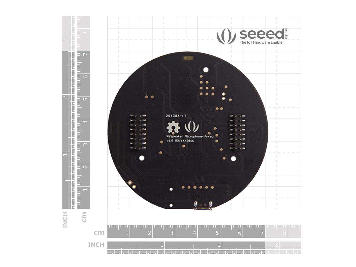 ReSpeaker Mic Array - Far-field w/ 7 PDM Microphones