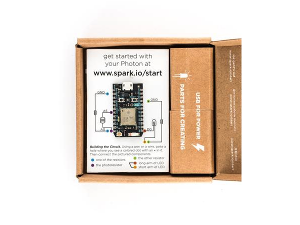 Particle Photon Kit-Tiny Wi-Fi Development Kit for IoT Project,Open Source Design