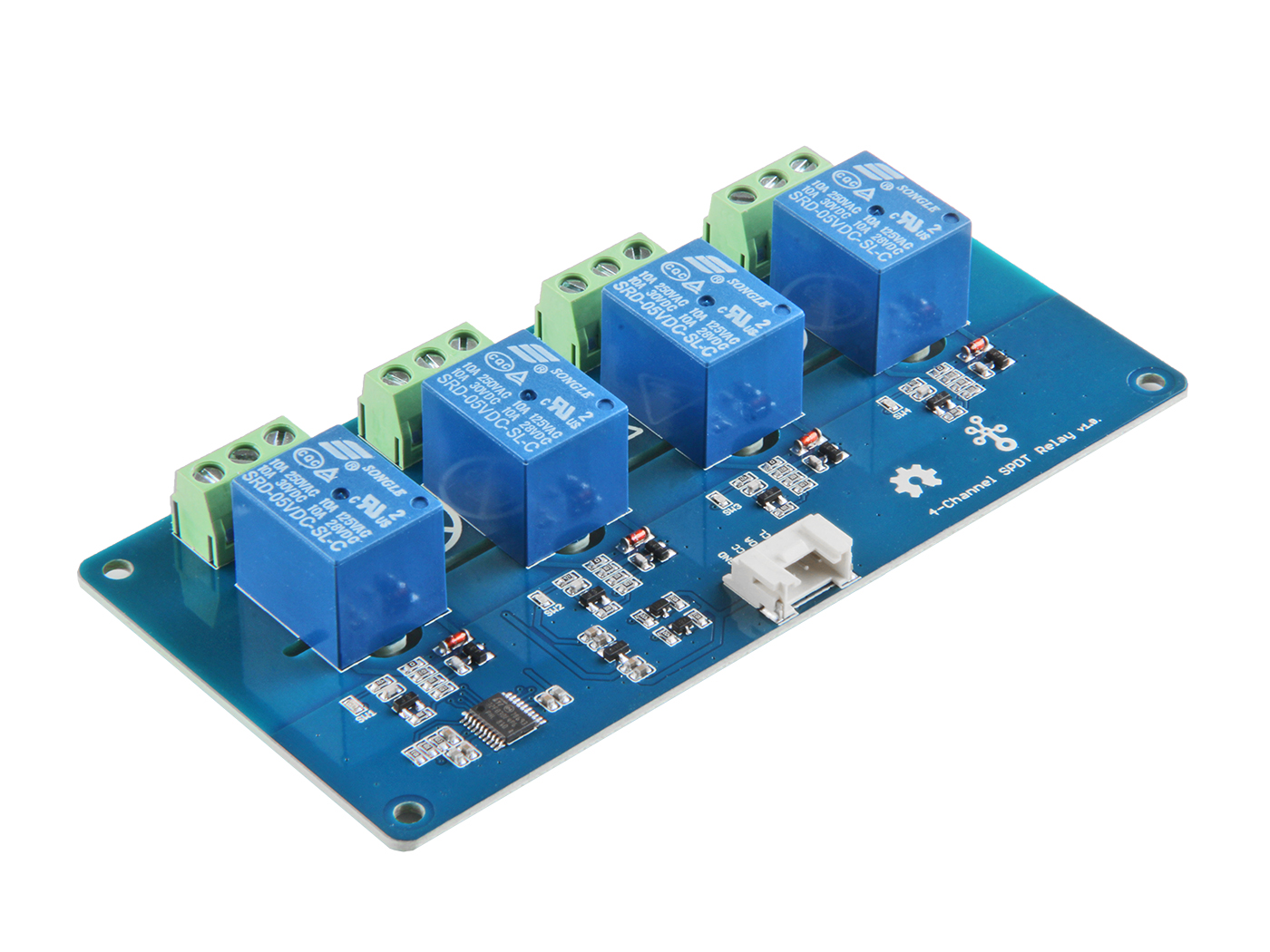 Grove 4 Channel Spdt Relay Switch Arduino Magnetic