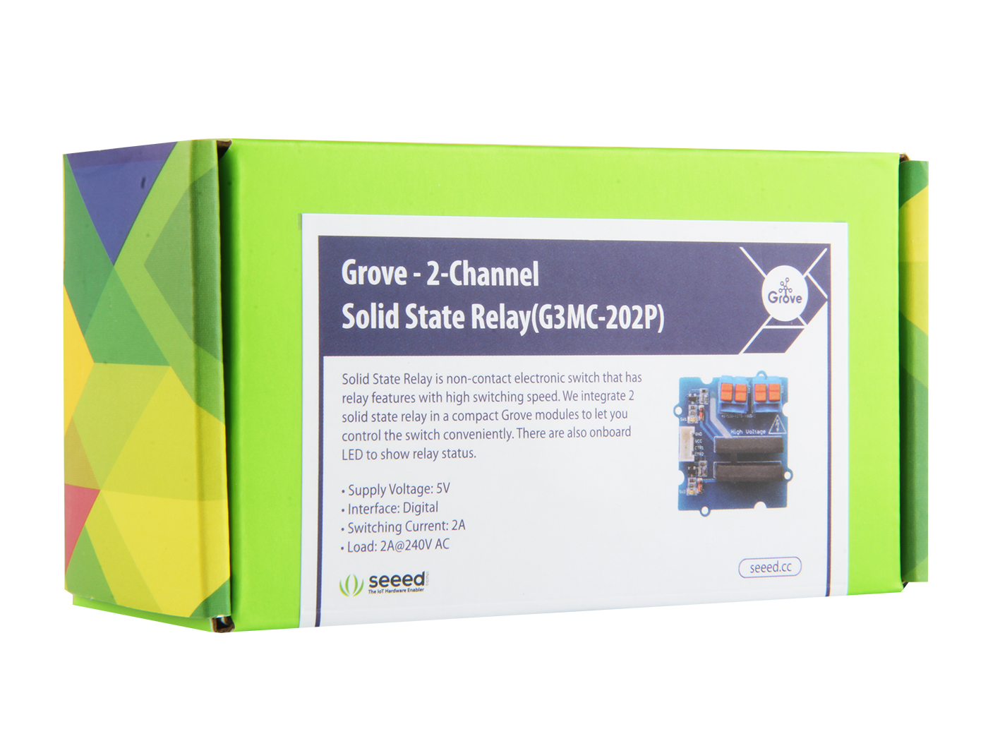 Grove 2 Channel Solid State Relay Leakage