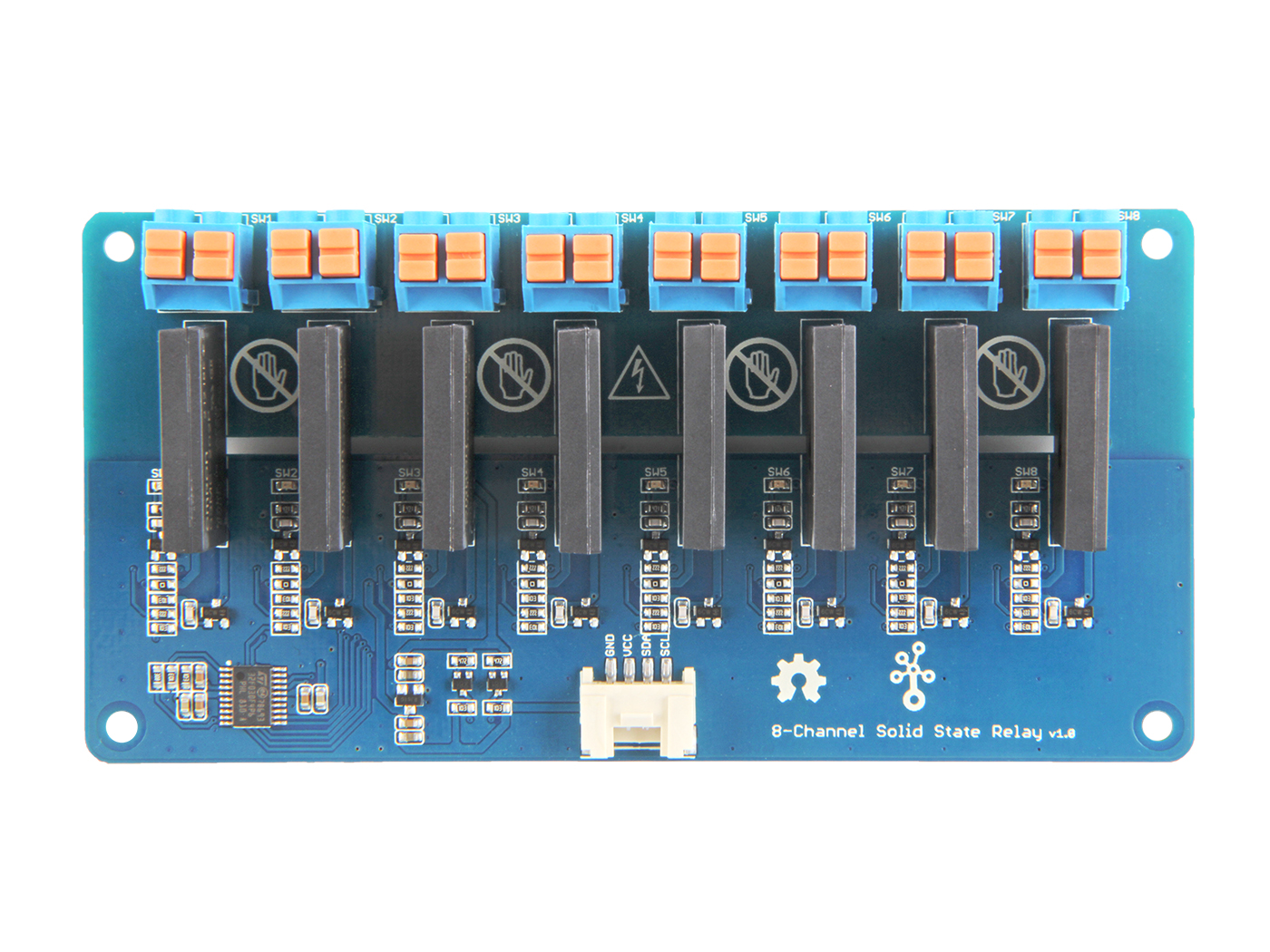Grove 8 Channel Solid State Relay Electrical Noise