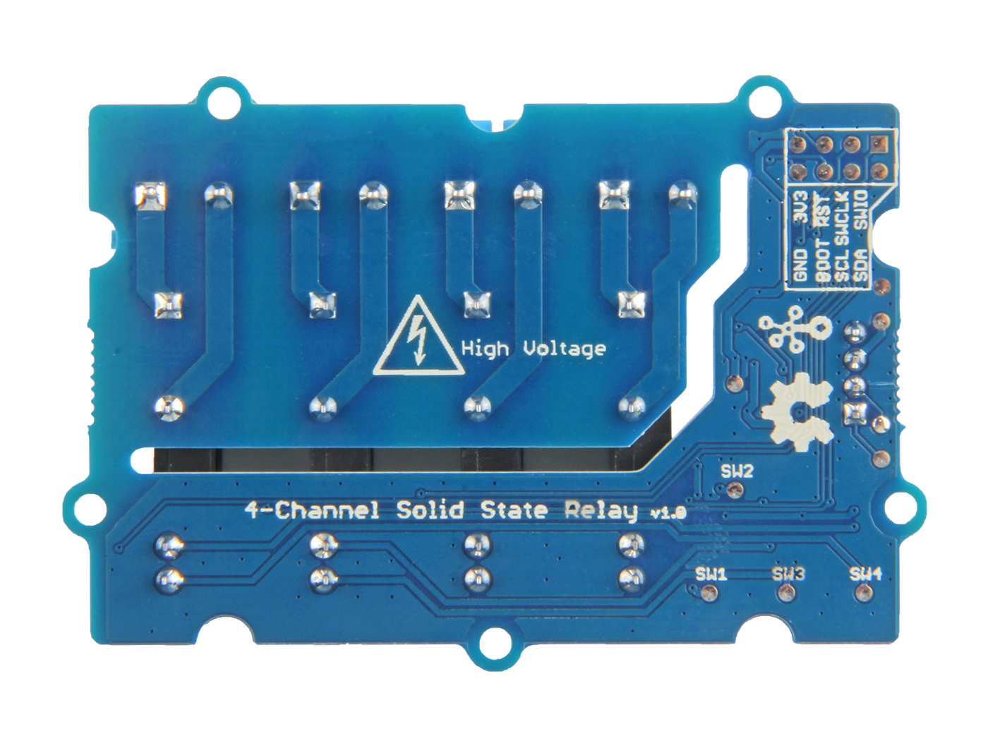 Grove 4 Channel Solid State Relay Project