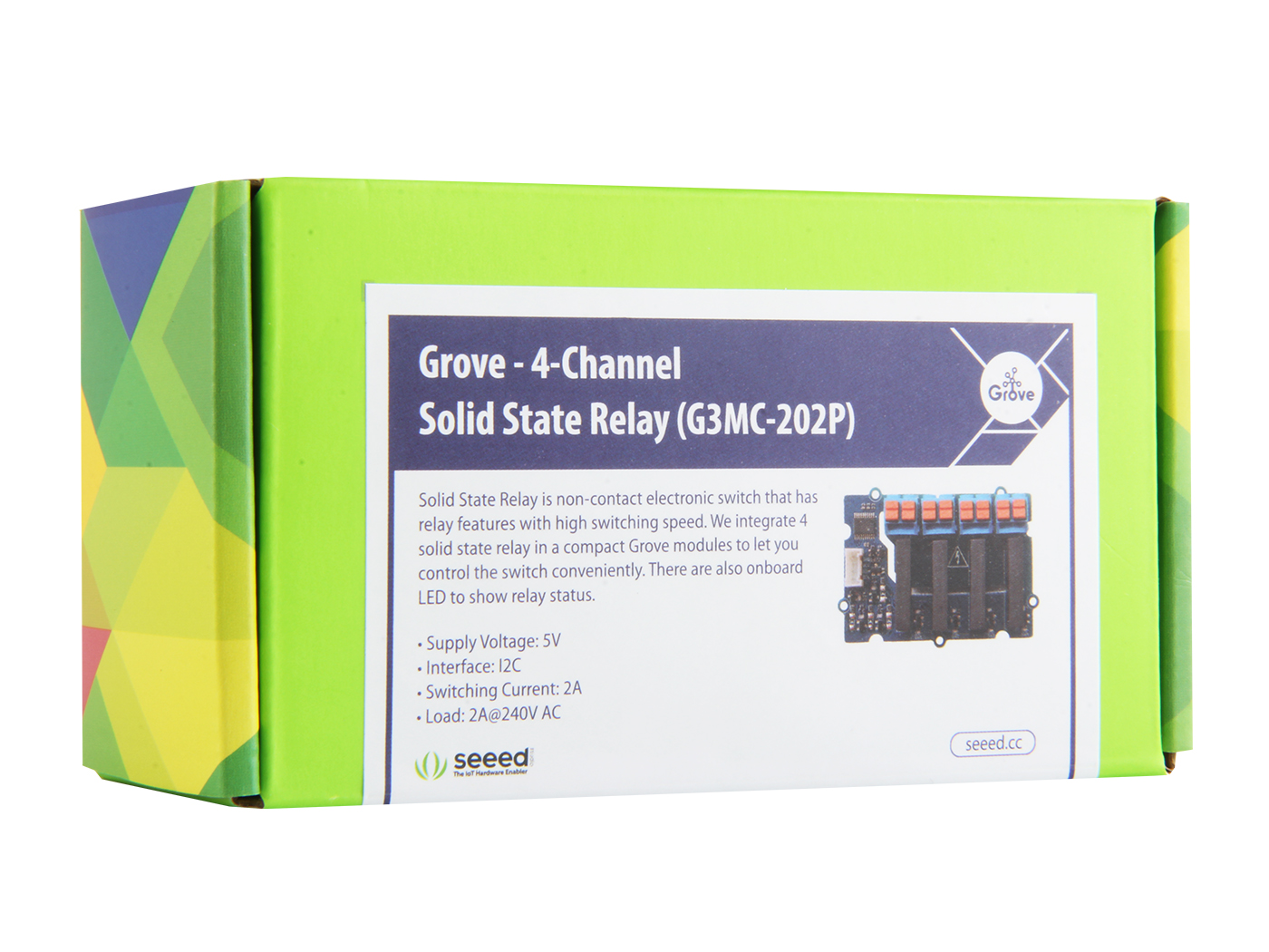 Grove 4 Channel Solid State Relay Switching Current Of