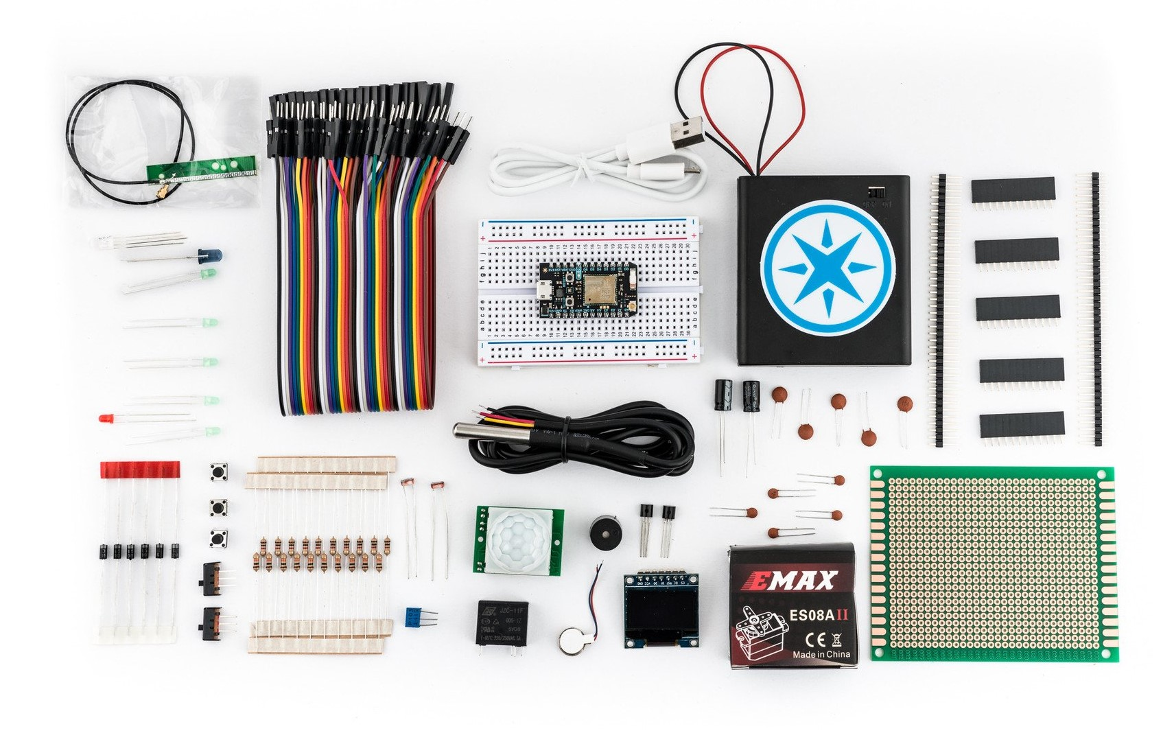 Particle Photon Maker Kit: Everything you need to start building