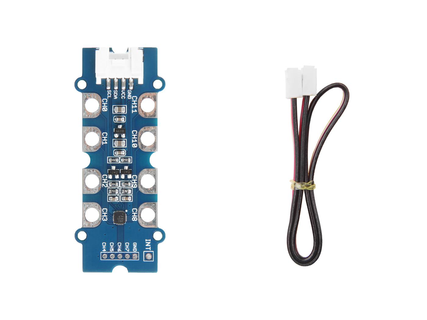 Grove - 12 Key Capacitive I2C Touch Sensor V2 (MPR121)