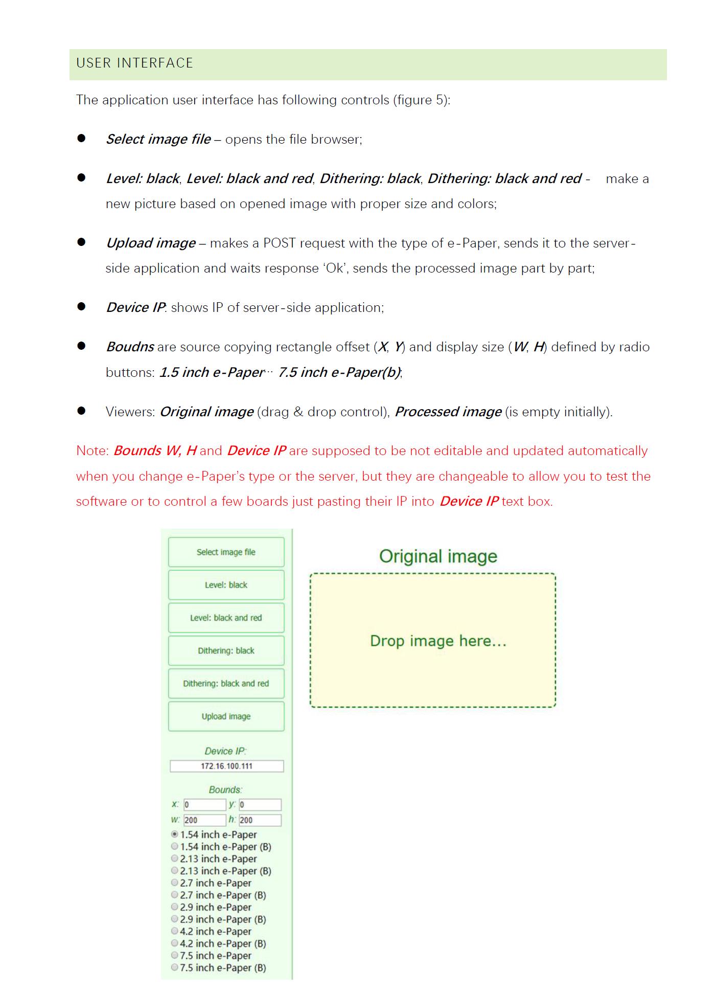 Universal e-Paper Raw Panel Driver Board, ESP8266 WiFi Wireless