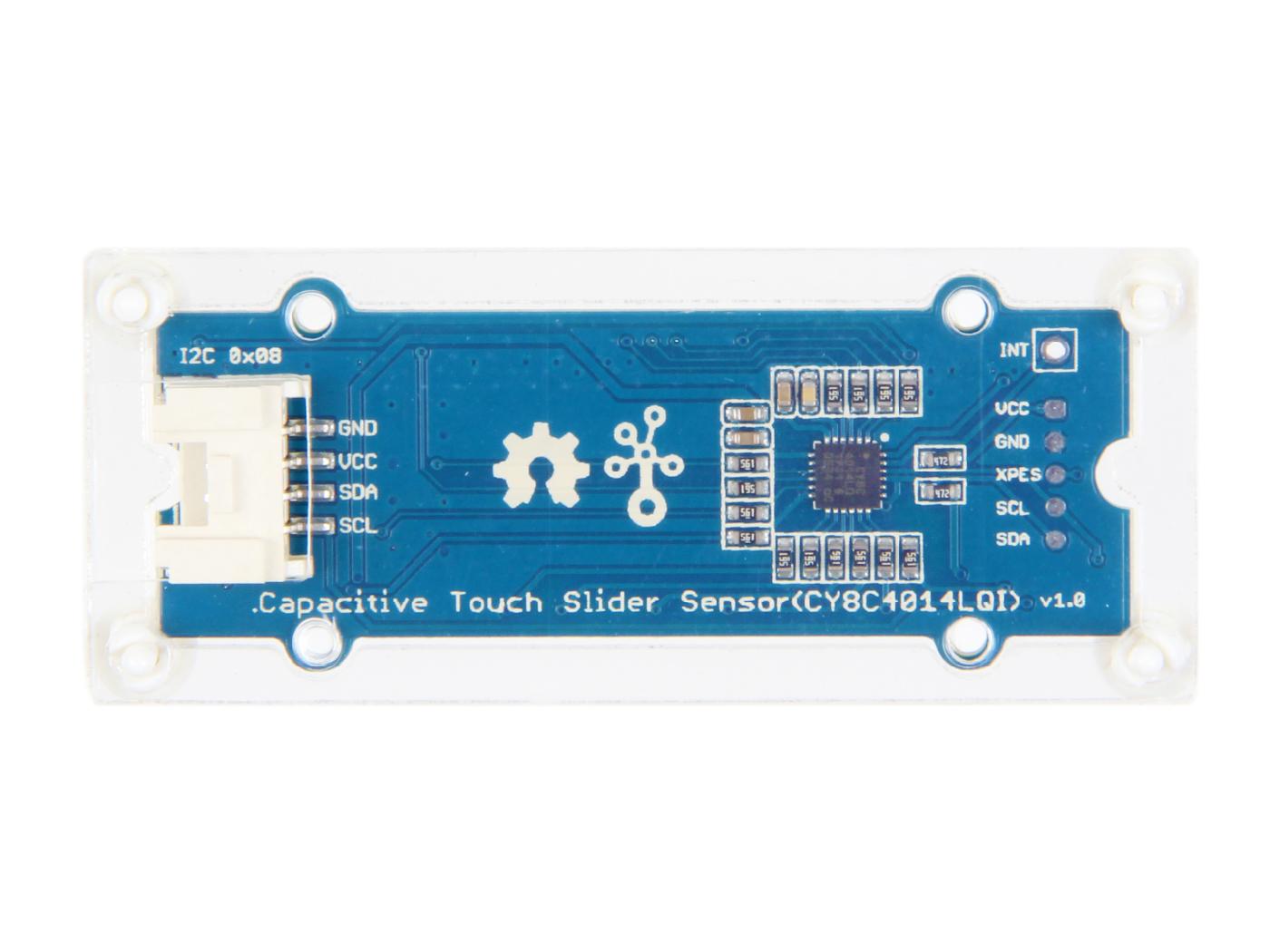Grove - Capacitive Touch Slide Sensor(CY8C4014LQI)