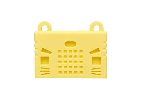 KittenBot Micro:Bit Case - Silicone Sleeve - Yellow