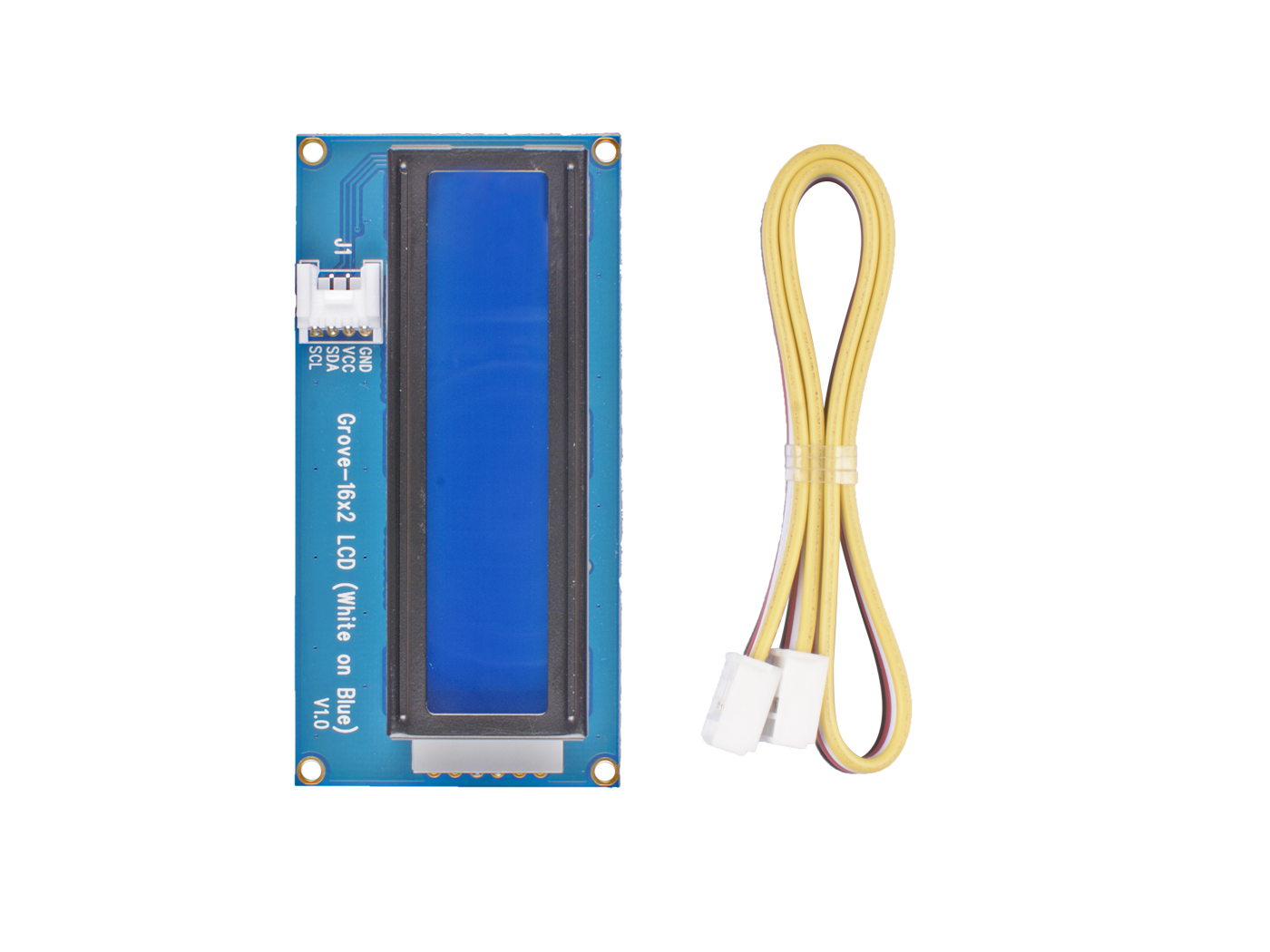 Grove - 16 x 2 LCD (White on Blue)