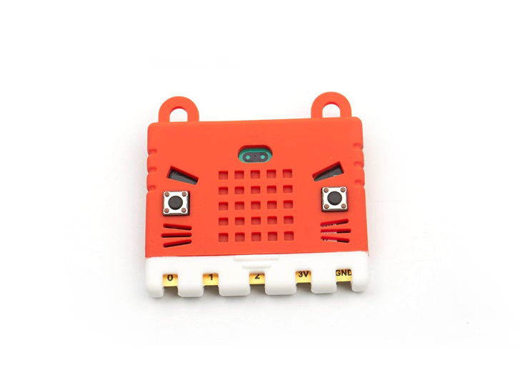 KittenBot Micro:Bit Case - Silicone Sleeve - Red
