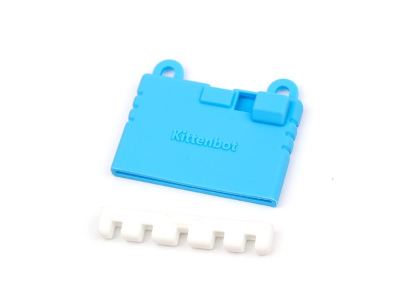 KittenBot Micro:Bit Case - Silicone Sleeve - Blue