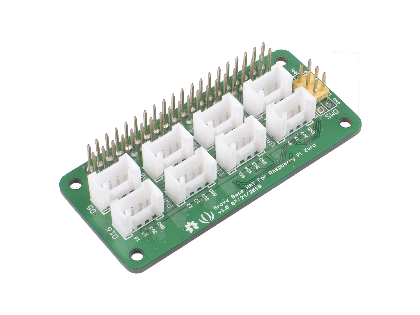 Grove Base Hat For Raspberry Pi Shield Dummies Experimental Board Analog Digital Zero