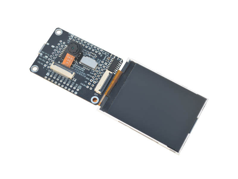 Sipeed M1 dock suit ( M1 dock + 2.4 inch LCD + OV2640 ) K210 Dev. Board 1st RV64 AI board for Edge Computing