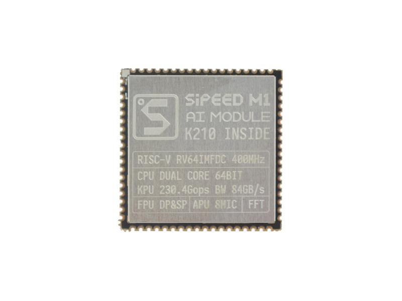 Sipeed MAIX-I module w/o WiFi ( 1st RISC-V 64 AI Module, K210 inside )