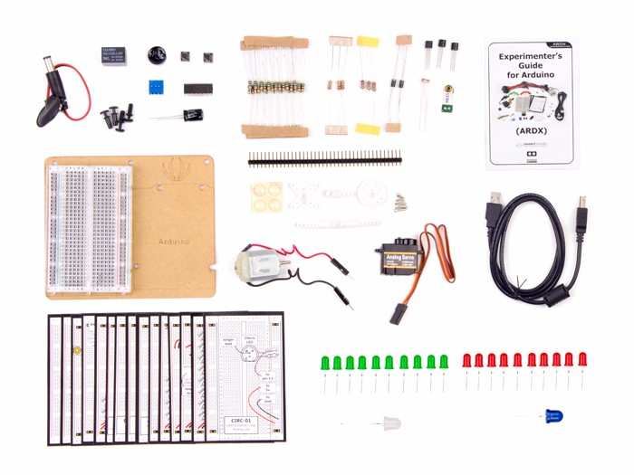 ARDX - Basic Experimentation Kit for Arduino