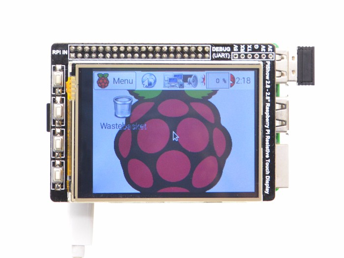 PiShow 2.8 Inch Resistive Touch Display