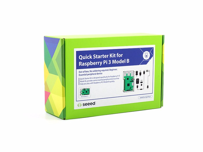 Quick Starter Kit for Raspberry Pi 3 Model B
