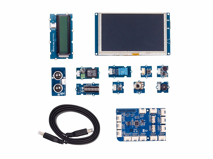 Grove Starter Kit for IoT based on Raspberry Pi