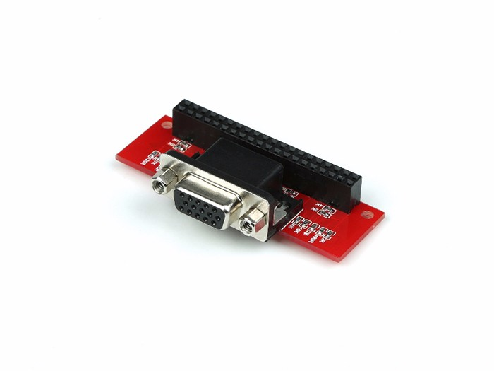 Raspberry PI VGA666 DPI dtoverlays Module