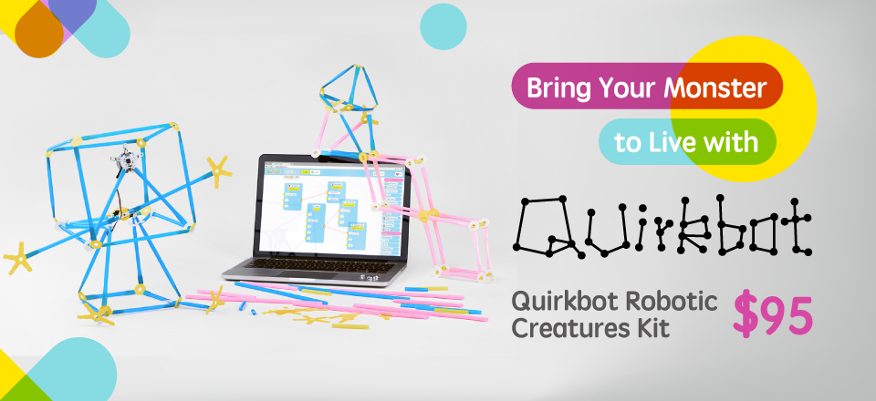 Quirkbot Robotic Creatures Kit