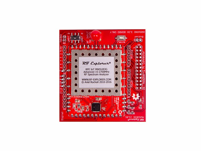 RF Explorer 3G+ IoT Shield for Arduino