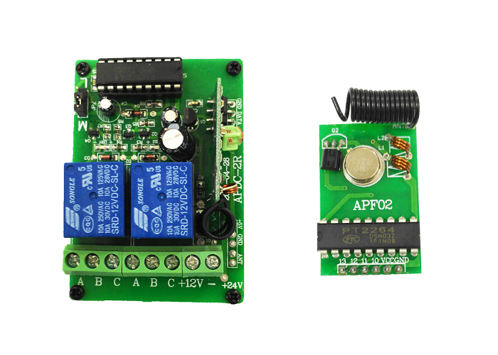 315Mhz remote relay switch kits - 2 channels