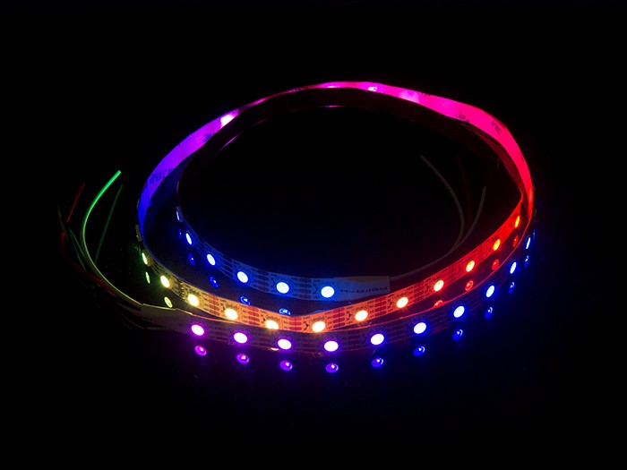 ws2813b digital rgb led flexi strip 60 led 1 meter led for interaction seeed studio. Black Bedroom Furniture Sets. Home Design Ideas