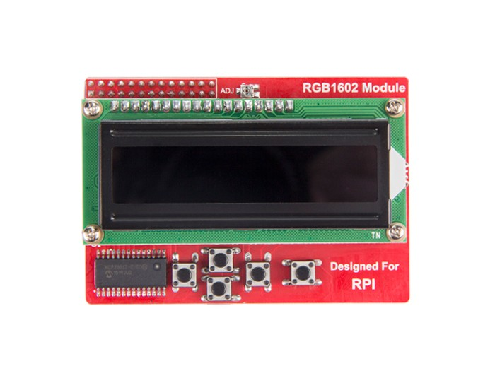 Raspberry Pi RGB1602 LCD Module
