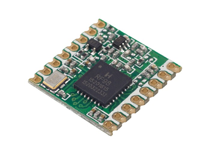 RFM98 Ultra-long Range Transceiver Module/LoRa Module/support 433M frequency