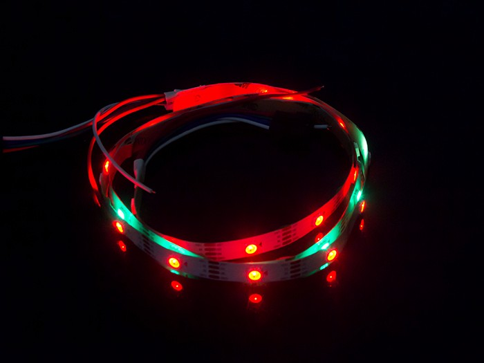 WS2813B Digital RGB LED Flexi-Strip 30 LED - 1 Meter