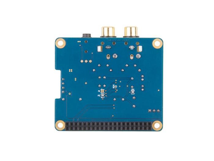 Raspberry pi B+/2B HIFI DAC