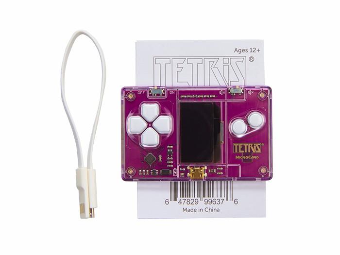 Tetris® MicroCard