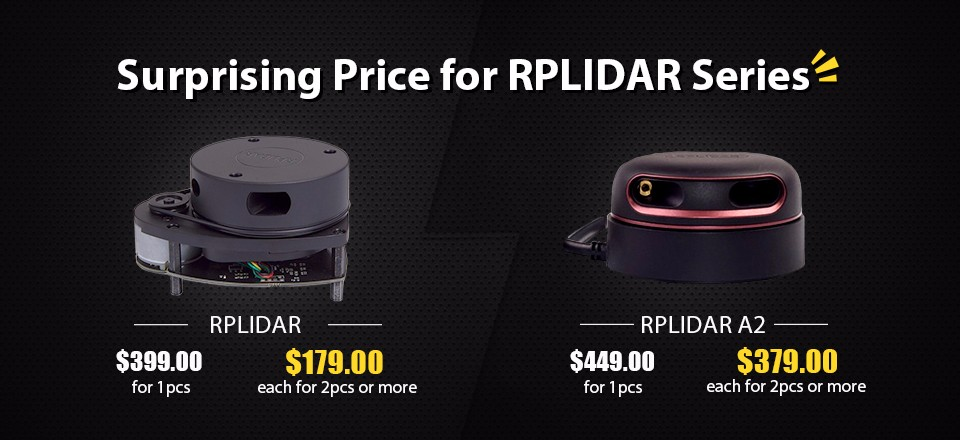 surprising price-rplidar