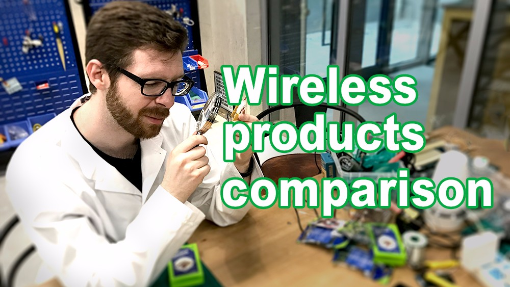 Wireless products comparison #Seeed's Techtalk