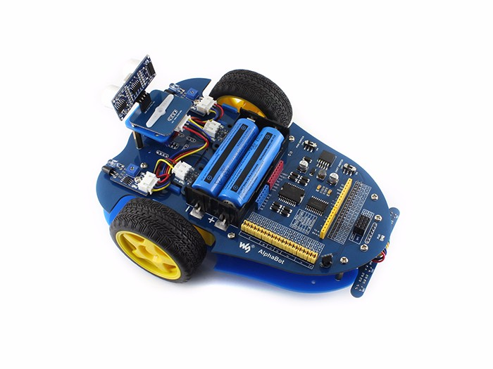 Alphabot basic robot building kit for arduino stem
